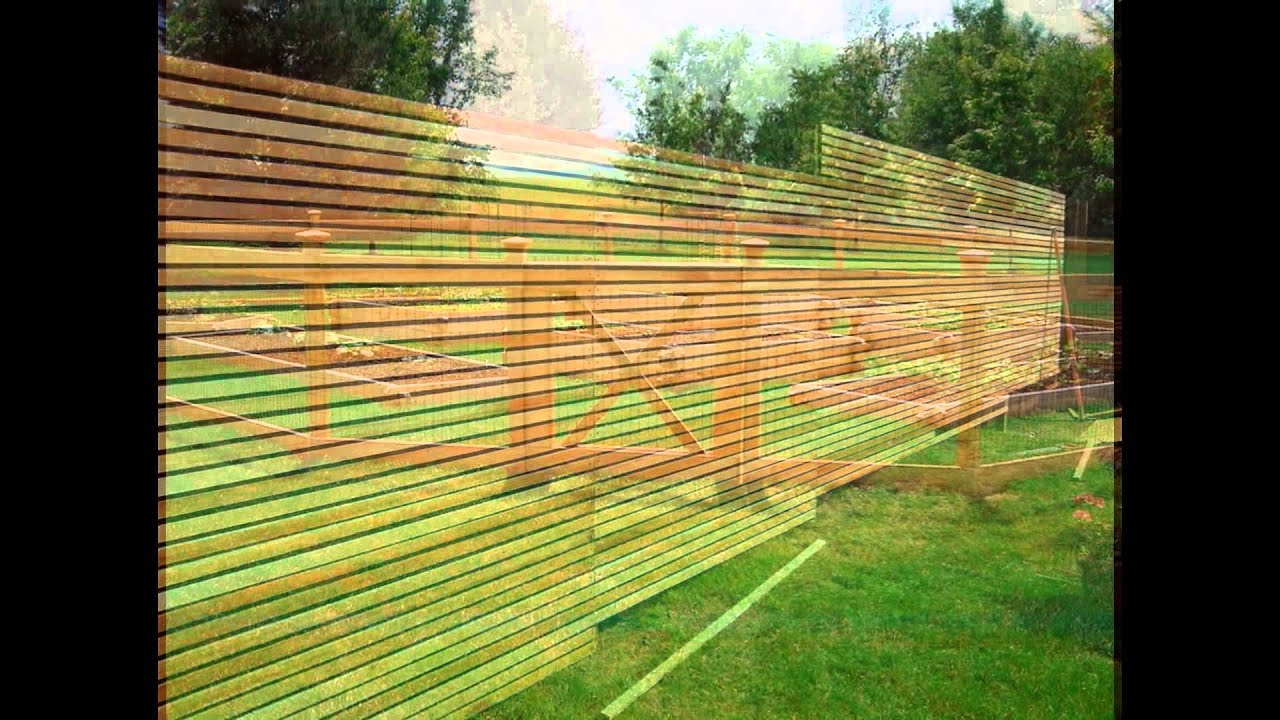 Ordinaire The Best Garden Fence Ideas 2015