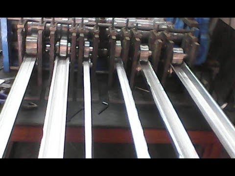 Roll Forming Machine Process Video