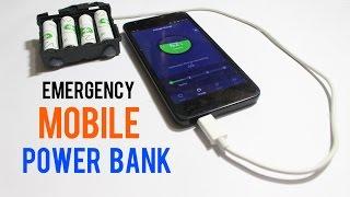 Acil Cep Telefonu Şarj cihazı AA Pil kullanarak Yapmak nasıl