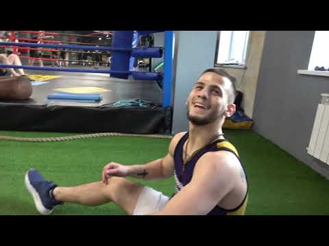 Original Workout Drills  - Russian Boxing Stars Working On Their Upper Body EsNews Boxing