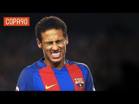 Barcelona Fans' Bitter Farewell To Neymar