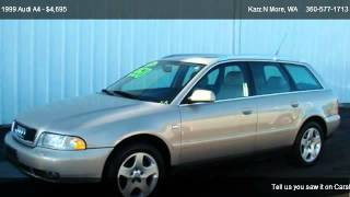 1999 audi a4 2 8 quattro avant wagon for sale in longview wa 98632