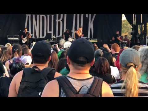 """Andy Black - """"They Don't Need To Understand"""" [LIVE HD] - Vans Warped Tour (Mountain View, CA 8/4/17)"""
