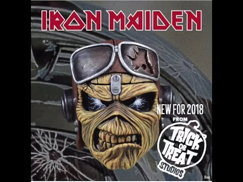 "IRON MAIDEN mascot ""Eddie"" Halloween masks available.. and new ones for 2018"