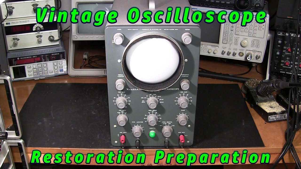 Old Oscilloscope, The Steps Needed For Restoration