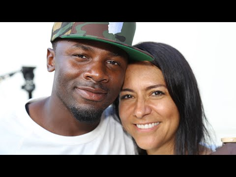 Actor Derek Luke & His Wife Give back to His Community Jersey City