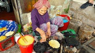Cụ bà 93 tuổi dành cả đời làm bánh kẹp giá 1.000 ở Cần Thơ