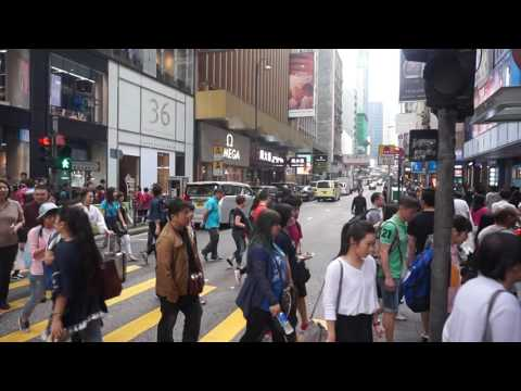 Hong Kong City center
