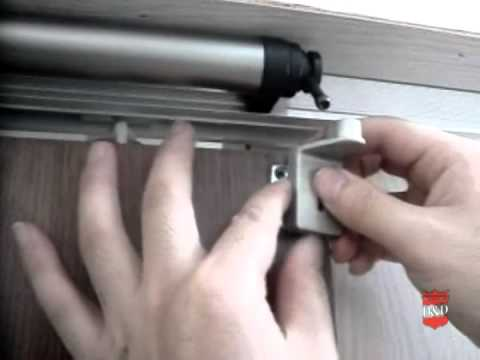 slide back sliding door closer installation