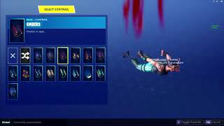 NEW EMBERS CONTRAIL LEAKED ON FORTNITE BATTLE ROYALE