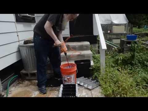 Paper Briquette Maker -- 4 cell Eco Paper Log Maker