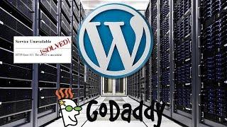 How to Fix 503 Service Unavailable Error in Wordpress