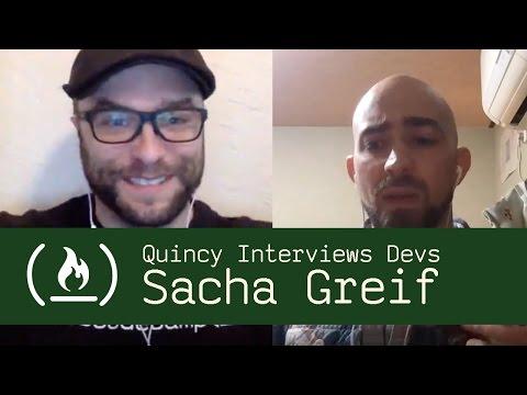 JavaScript Developer Sacha Greif - Quincy Interviews Devs