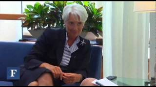 Christine Lagarde's View From The Top