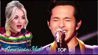 Laine Hardy: An EPIC Joe Cocker Performance But Katy Perry Wants More | American Idol 2019
