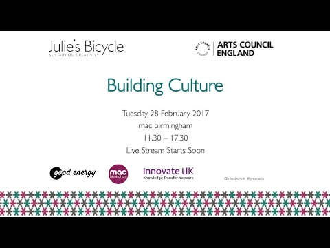 Building Culture - Opening sessions