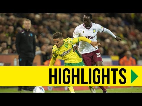 HIGHLIGHTS: Norwich City 2-1 Aston Villa