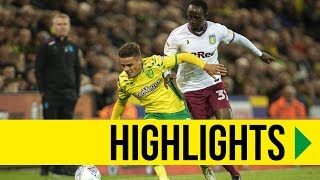HIGHLIGHTS: Norwich City 2-1 Aston Villa