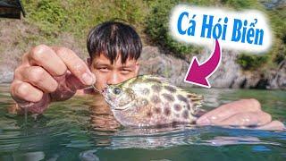7 Ngày Trên Đảo Hoang | Tập 4 Câu Cá Hói Trên Con Tàu Đắm Nguy Hiểm - Lạ Vlog