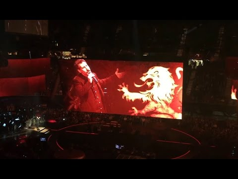 Serj Tankian Rains of Castamere (Game of Thrones Live Concert - The Forum LA)