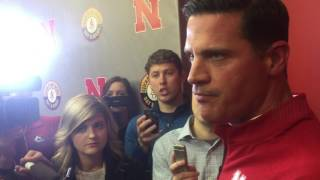 New Husker DC Bob Diaco following his introductory press conference