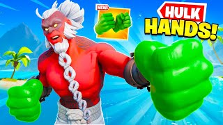 *NEW* HULK SMASHERS in Fortnite! (AVENGERS NEW SKINS)