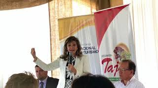 Palabras de Marcela Bacigalupo sobre el turismo sostenible