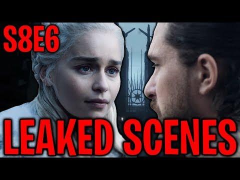S8E6 Daenerys Targaryen's Death & Leaked Scenes ! | Game of Thrones Season 8 Episode 6