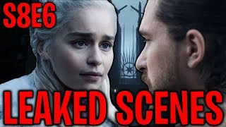S8E6 Daenerys Targaryen's Death & Leaked Scenes ! | Game of Thrones Season 8 Episode 6