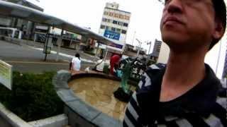 iPhone4に広角レンズ付けて焼津駅周辺を散歩してきました
