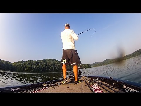 22 pounds of Bass on Watts Bar Lake