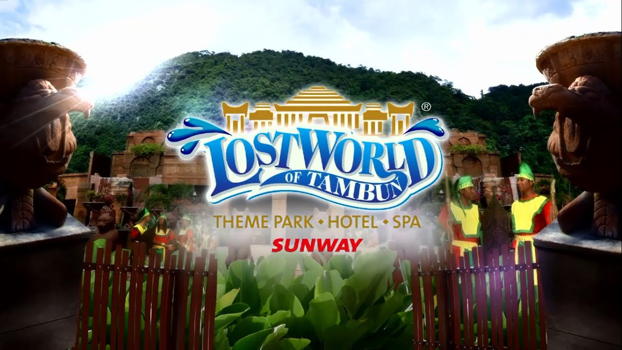 lost world of tambun more than just a theme park youtube