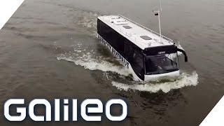 Der Schwimmbus - Hamburgs erstes Amphibienfahrzeug | Galileo Lunch Break