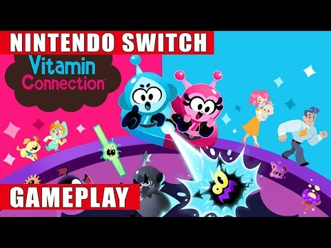 Vitamin Connection Nintendo Switch Gameplay