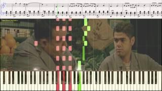 АМЕЛИ - Ян Тьерсен (попурри) (Ноты и Видеоурок для фортепиано) (piano cover)