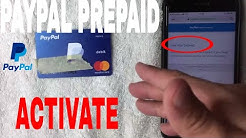 ✅  How To Activate Paypal Prepaid Debit Mastercard ?