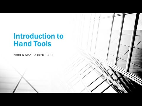 Hand Tools Video Lesson Final Copy