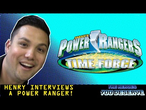 Michael Copon  Power Rangers Time Force  @THYD