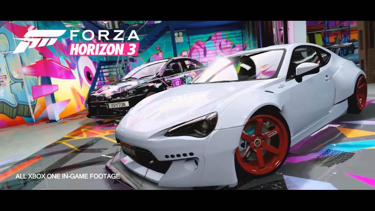 Forza Horizon 3 Trailer 2016 Fanmade Youtube