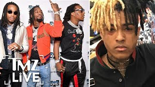 Migos In Violent Fight With XXXtentacion! | TMZ Live