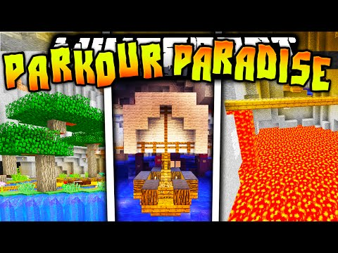 Minecraft PARKOUR PARADISE CAVES