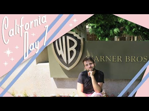 California | Day 7 Vlog | Warner Bros. Studio Tour Hollywood | July 2017 | Adam Hattan