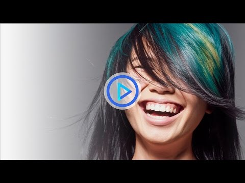 How to color hair - Aquamarine colours - Preview 133 - 동영상