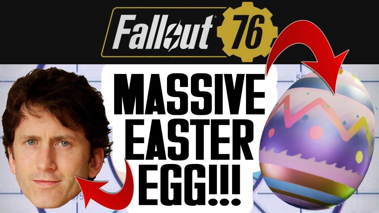 MASSIVE Fallout 76 Easter Egg (Definitely Not a Joke)