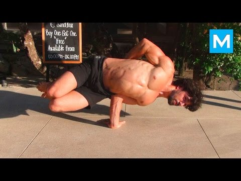 Ido Portal Workout & Combat Training   Muscle Madness