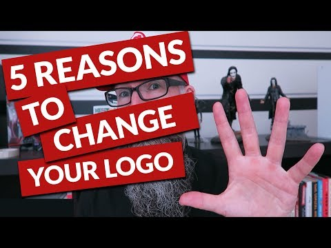 5 Reasons to change your logo design and improve your brand.