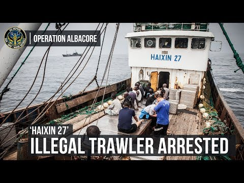 Busted! Illegal Fishing Trawler Arrested in Gabon's Marine Protected Area