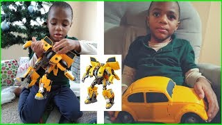 Vlogmas #20 | Transformers Bumblebee Power Charge Toy Review + Fortnite Dance Break