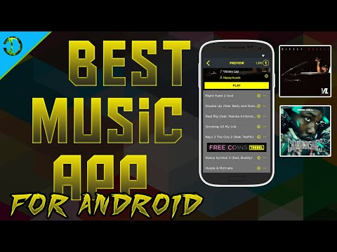 The BEST App To Download Music On ANDROID For FREE! (High Quality Songs With ALBUM Covers)