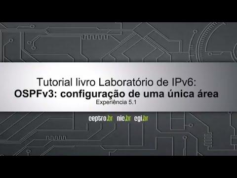 Tutorial IPv6: OSPFv3 - Configuração de uma única área